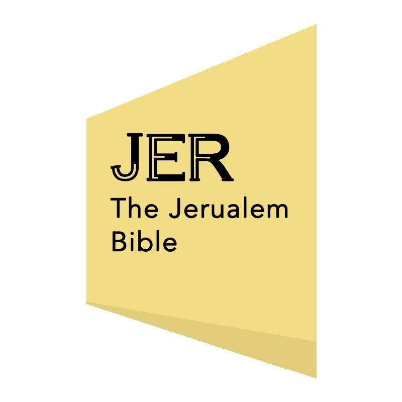 THE JERUSALEM BIBLE (JER)