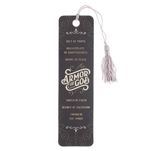 Marque-Page / Armor of God Bookmark with Tassel - Ephesians 6:10-18