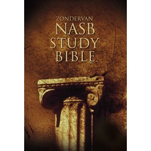 NASB Study Bible - Hardcover, Red Letter