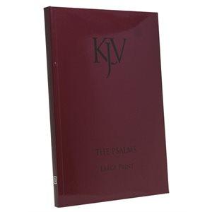 KJV Large Print Psalms