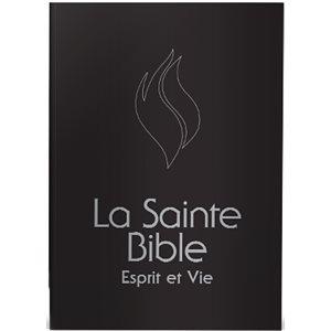 BIBLE ESPRIT ET VIE - COUVERTURE RIGIDE NOIR