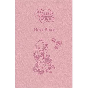 ICB Precious Moments Holy Bible - Pink Edition