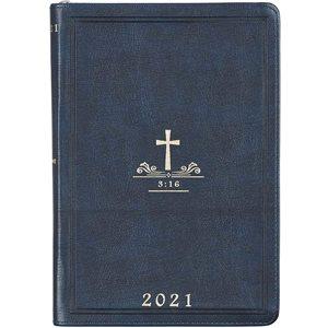 Executive Planner 2021- Navy Blue / Cross