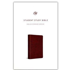 ESV Student Study Bible, Trutone, Chestnut