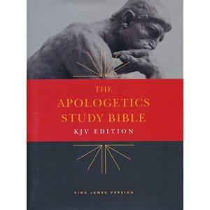KJV Apologetics Study Bible, Hardcover, Hardcover