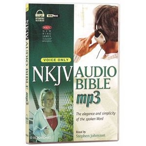 NKJV Complete Audio Bible on MP3-voice only