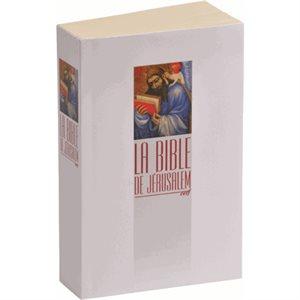 La Bible de Jérusalem - Format Poche, Couverture Souple Blanche Illustrée