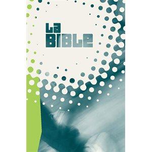 La Bible - Nouvelle Édition de Genève (NEG), Format de poche, Couverture rigide blanche verte grise