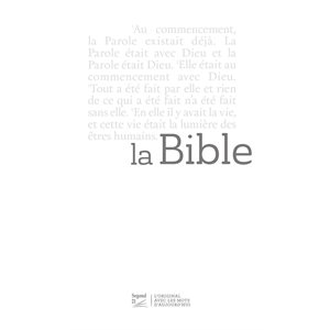 La Bible Segond 21 (S21) Slim - Couverture blanche
