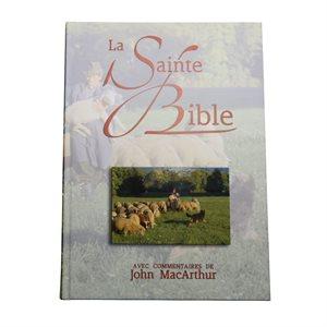 La Sainte Bible avec Commentaires de John MacArthur - Version NEG