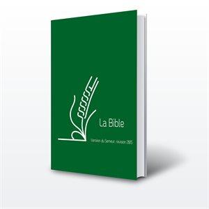 Bible du Semeur 2015, Lin verte, Tranche blanche - Couverture Rigide Verte, Renforcée lin