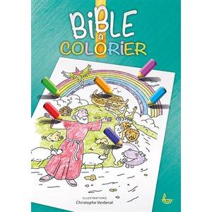 Bible à Colorier - 100 Récits Bibliques et Autant de Dessins
