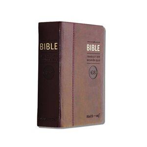 La Bible - Traduction Oecuménique de la Bible (TOB), à Notes Essentielles, Couverture semi-rigide, similicuir bordeaux, tranche dorée avec coffret