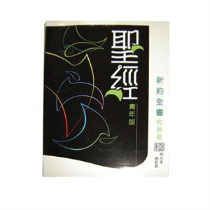 Chinese - Revised Chinese Union (RCUV) New Testament With Psalms & Proverbs Youth Edition Shangti Edition Traditional Script Colourful